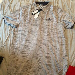 Travis Mathew Dallas Cowboys Polo Shirt Large NEW